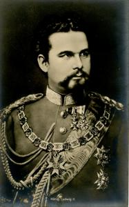 German Royalty - King Ludwig II    *RPPC