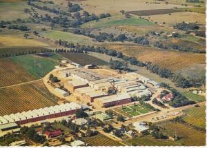 Orlando Wine Cellars Vineyard Barossa Valley South Australia Aerial Postcard D15
