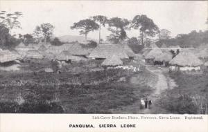 SIERRA LEONE , 00-10s : Village of PANGUMA