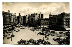 Spain - Valencia. Caudillo Square   *RPPC