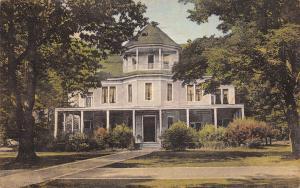 Chautauqua NY Literary and Scientific Circle Alumni Hall~Handcolored c1930