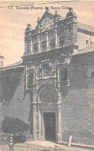 Toledo Puerta de Santa Cruz Spain Unused