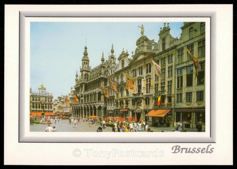 Brussels - King's House and Corporation Houses