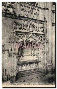 Old Postcard Bourg Brou Church Mausoleum of Margaret of Bourbon