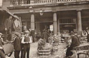 Covent Garden in 1912 London Postcard