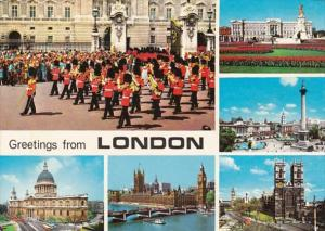 England Greetings From London Multi View 1972