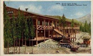 Grand Lake Lodge - Rocky Mountain National Park, Colorado CO