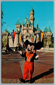 Postcard Anaheim CA c1960s It all Started With a Mouse DT-35929-C Fantasyland B