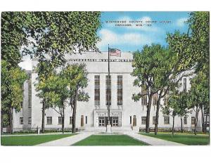 Winnebago County Court House Oshkosh Wisconsin