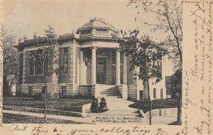 LITCHFIELD, Minnesota, 1905 , Public Library