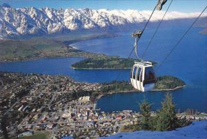 Gondola To Skyline Restaurant Bobs Peak Queenstown New Zealand