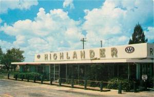 Lake Wales FL~The Highlander Restaurant~1960 Postcard