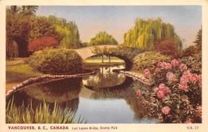 Canada B.C. Vancouver Lost Lagoon Bridge, Stanley Park
