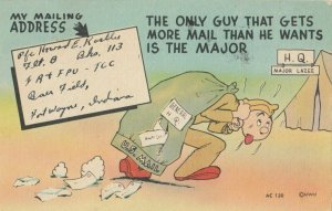 MILITARY COMIC, 1930-40s; Mail