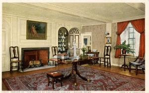 MA - Salem. House of Seven Gables. Parlor