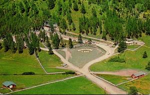 South Dakota Black Hills Rushmore Cave Aerial View