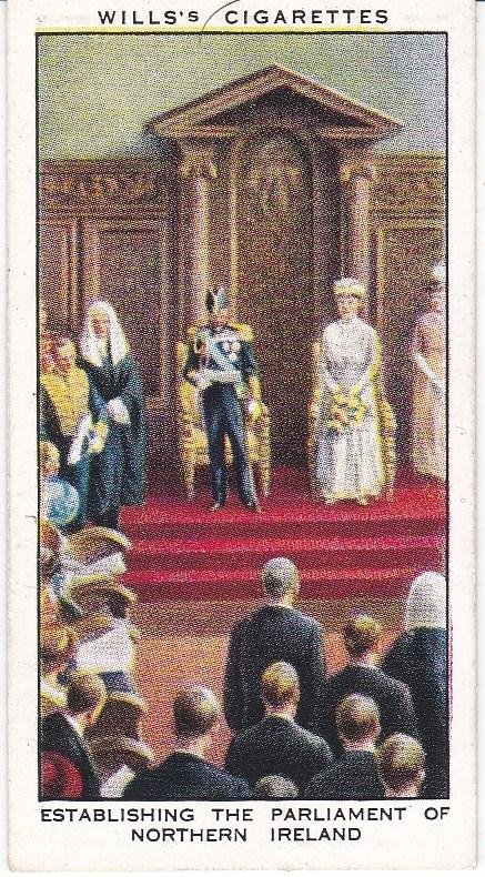 Cigarette Card Wills The Reign of H.M. George V (1935) No 13