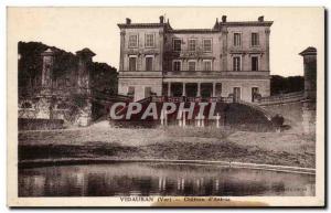 Old Postcard Vidauban Chateau d & # 39Astros