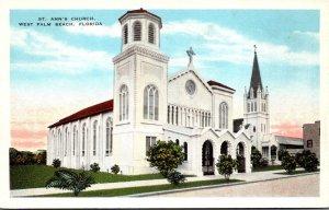 Florida West Palm Beach St Anne's Church
