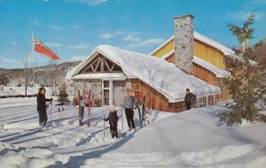 Skiers, Lac Ouimet Club, St Jovite, Quebec, Canada, 1960-70s