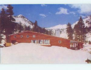 Unused Pre-1980 LODGE SCENE Squaw Valley Lodge California CA J6767-22