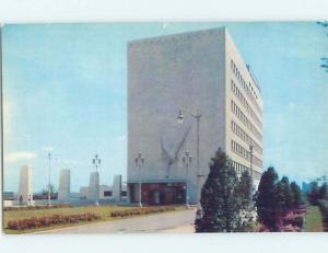 Unused Pre-1980 VETERANS MEMORIAL BUILDING Detroit Michigan MI F9824
