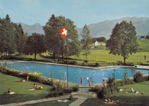 Switzerland, Suisse, APPENZELL, Schwimmbad, unused Postcard