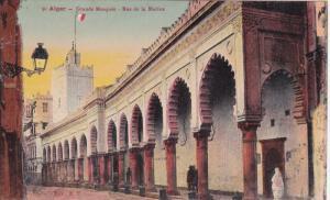 Grande Mosquee, Rue De La Marine, ALGER, Algeria, Africa, 1900-1910s
