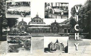 Postcard France Vichy Allier Casino
