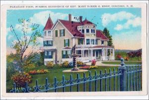 Residence of Rev Mary Baker G Eddy, Concord NH