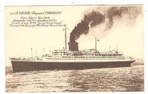 Ocean Liner CHAMPLIN , Le Harve , France , 00-10s
