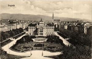 CPA Zagreb CROATIA (597585)