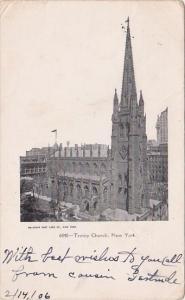 New York City Trinity Church 1906