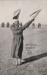 Military Flagman The Army's Wireless