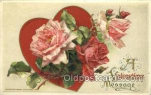 Publisher John Winsch Valentines Day Postcard Post Cards