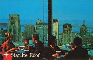 Postcard Starlite Roof San Francisco California