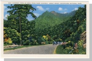 Smoky Mountains Nat'l Park,Postcard,NC/TN,ParkHighway,Nr Mnt