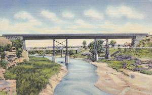 SANTA ROSA , New Mexico , 30-40s ; Two Bridges on the Pecos