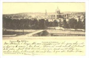 Namur , Belgium, Panorama et Cathedrale, PU-1903