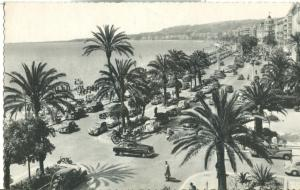 Nice, vue generale de la Promenade des Anglais, 1957 used