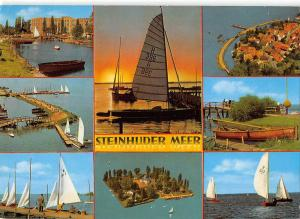 GG11879 Steinhuder Meer multiviews Hafen Schiff Harbour Boats Sunset Port