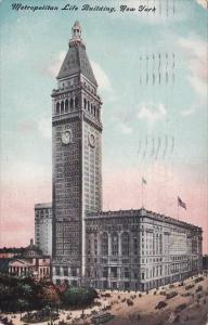 New York City Metropolitan Life Building 1910