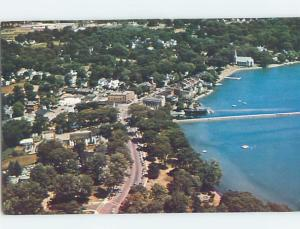 Pre-1980 AERIAL VIEW Skaneateles - Near Auburn & Syracuse New York NY A4970
