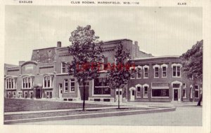 EAGLES and ELKS CLUB ROOMS, MARSHFIELD, WIS. 1942