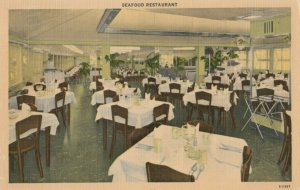 OCEAN CITY , New Jersey, 1930-40s ; Chris' Seafood Restaurant & Fish Market
