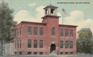 BALDWIN, Michigan, 1912; Baldwin Public School