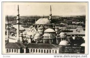 RP: Aerial of Sulemaniye Mosque,Istanbul,Turkey '20-30s