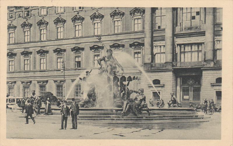 Berlin , Germany , Begas-Brunnen , PU-1912