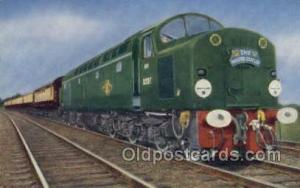 Master Cutler, Kings Kross, UK Train, Trains, Locomotive, Old Vintage Antique...