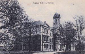 TORONTO, Ontario, Canada, PU-1907; Normal School